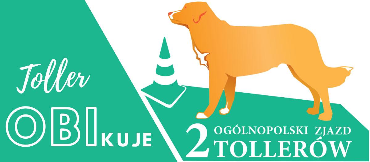 Logo II Ogólnopolski Zlot Tollerów trenujących obedience