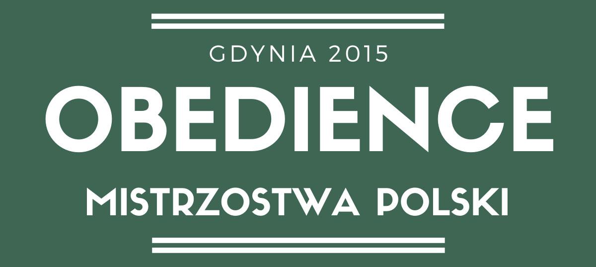 Mistrzostwa Polski Obedience 2015