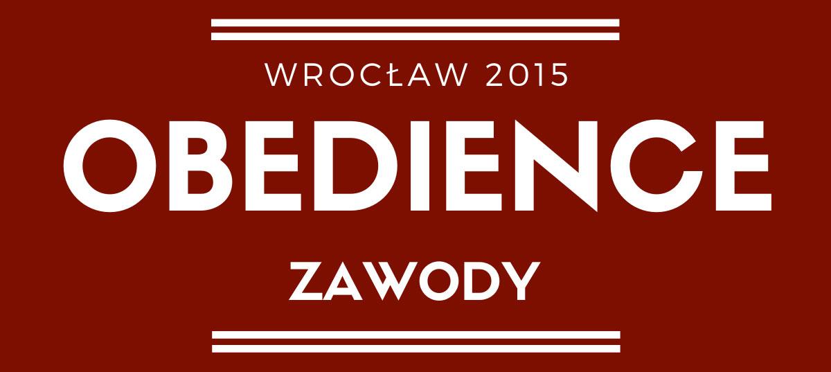 Zawody obedience we Wrocławiu 2015