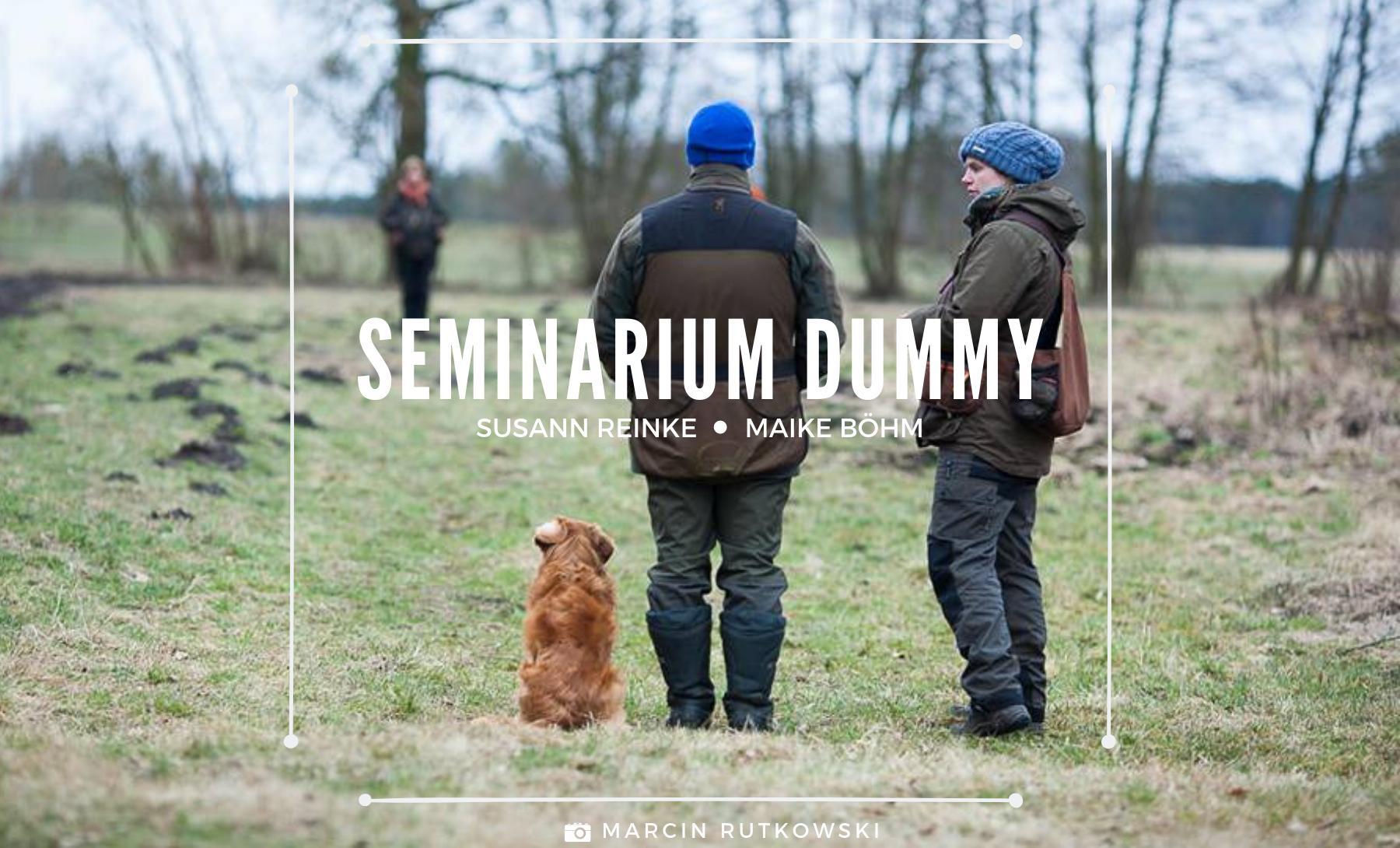 Dummy training Susann Reinke Marike Bohm