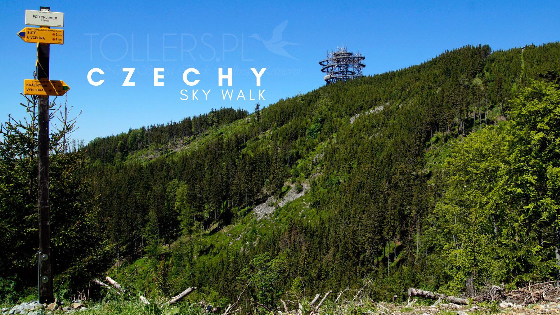 Sky Walk w Czechach