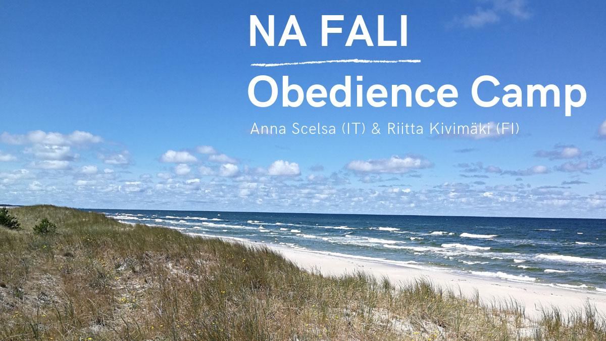 Obóz obedience NA FALI Obedience Camp 2019